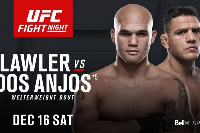 Ufc on Fox 26: Robbie Lawler vs Rafael Dos Anjos