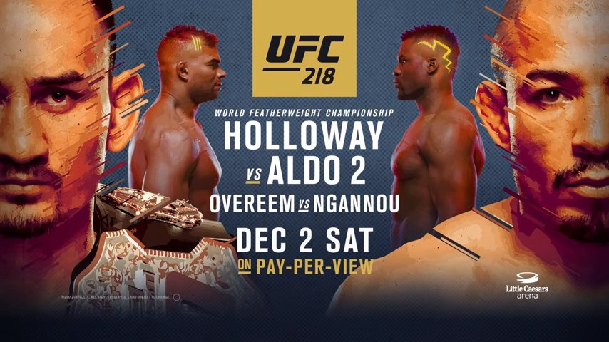 Trailer de l'UFC 218: Holloway vs Aldo 2 – Go To War