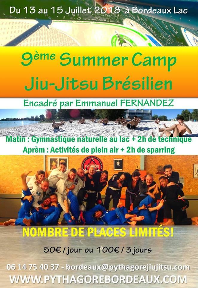 Bordeaux - BJJ Summer Camp 2018!