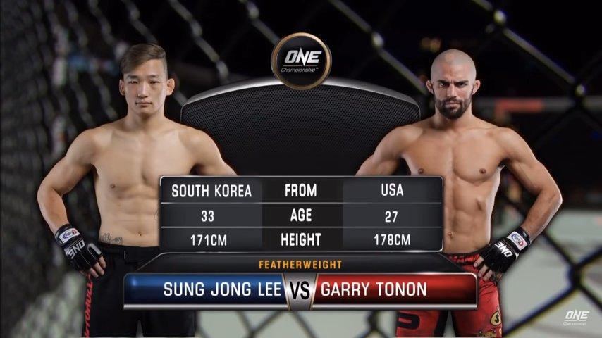 [Vidéo] One Champion - Garry Tonon vs Sung Jong Lee