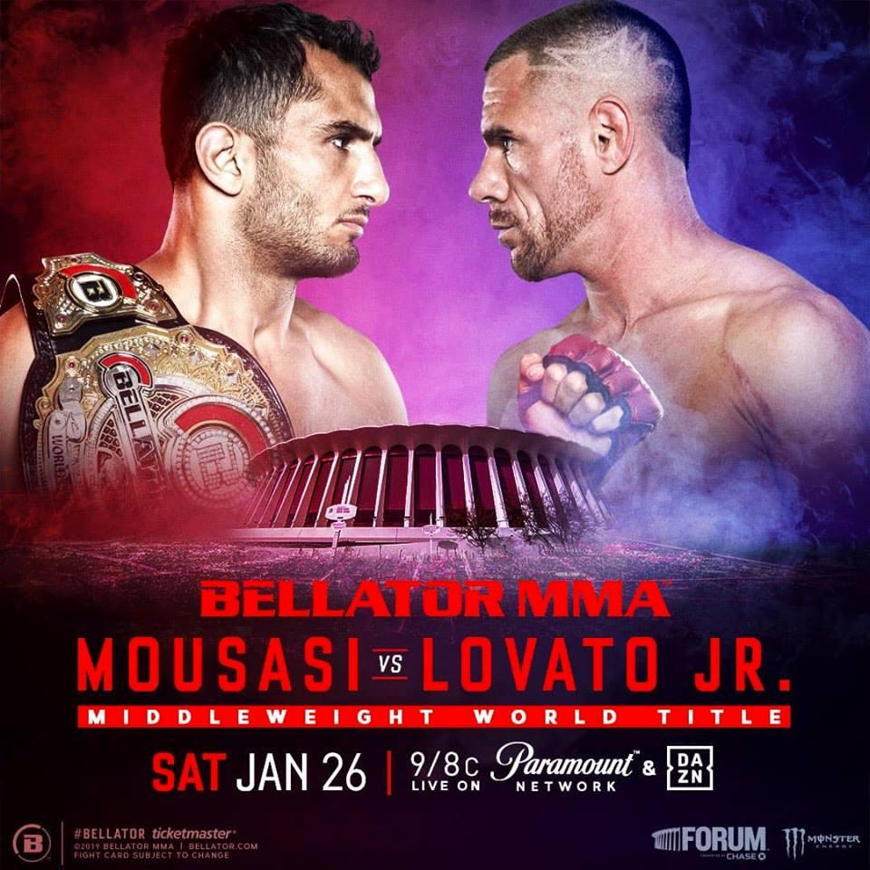 Bellator 214: Gegard Mousasi vs Rafael Lovato Jr