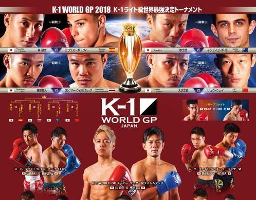 Message dans K-1 WGP 2018 Japan (08/12/2018) Light Weight Tournament