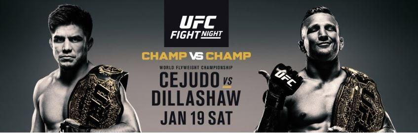 Parier sur l'UFC on ESPN+ 1: Cejudo vs. Dillashaw