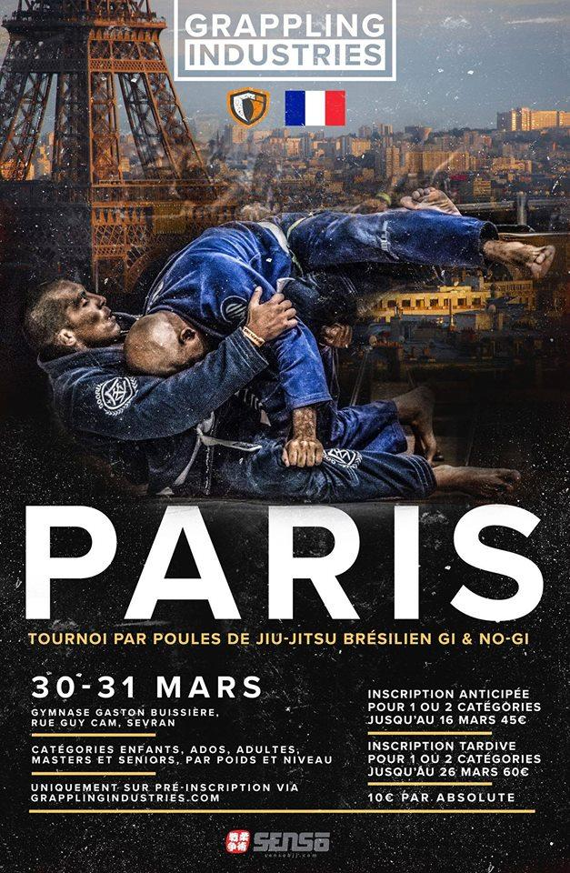 Grappling Industries à Paris les 30-31 Mars 2019