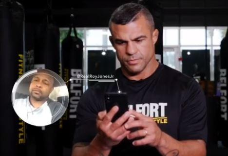 Vitor Belfort affrontera... Roy Jones Jr !