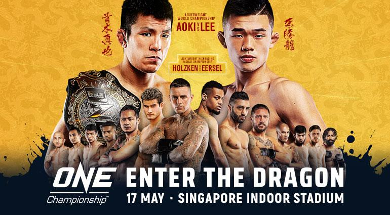 Résultats du ONE FC Enter The Dragon (18/05/2019) Kickboxing Feather Weight GP