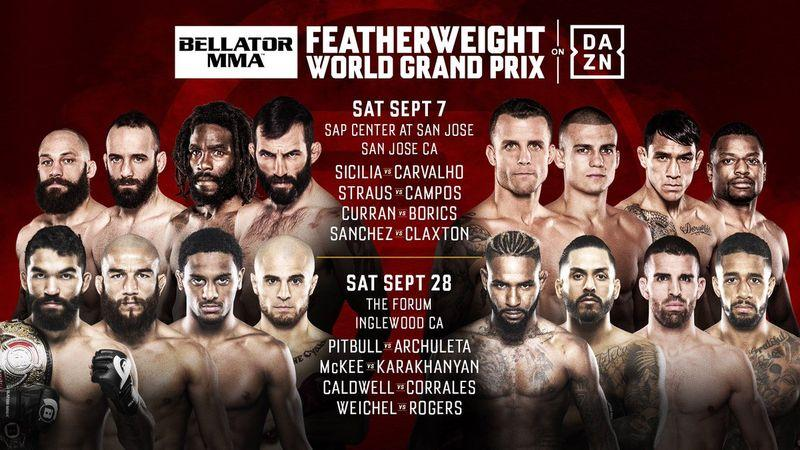Bellator Feather Weight GP 2019