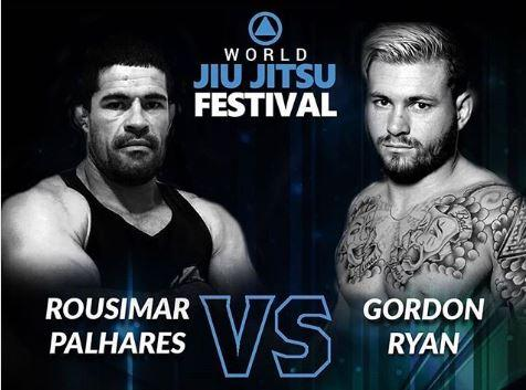 Gordon Ryan vs. Rousimar Palhares Au World Jiu-Jitsu Festival