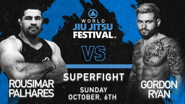 [Vidéo] GORDON RYAN VS ROUSIMAR PALHARES au World Jiu-Jitsu Festival