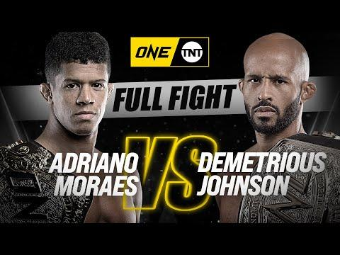 [Vidéo] ONE Championship : Adriano Moraes vs. Demetrious Johnson
